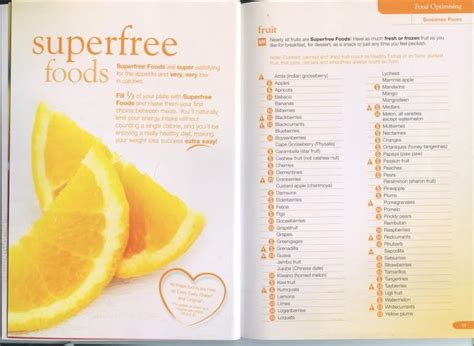 s fruits slimming world slimming world speed foods list