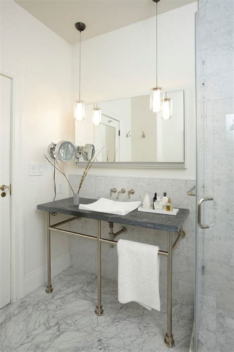 bathroom hanging lights 25 ways to decorate with bathroom light fixtures top