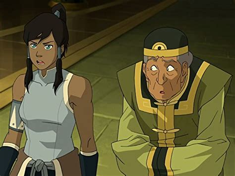 legend  korra  earth queen tv episode