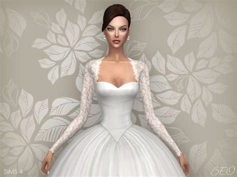 Cyntia Dress Cc 72 best images about sims 4 wedding dress on