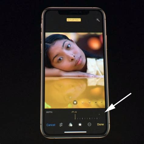 apple unveils the iphone xs and xs max smart hdr and bokeh slider