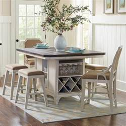 kitchen island table sets avalon furniture mystic cay 7 kitchen island table