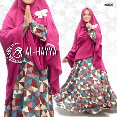 Gamis Hayya gamis modern motif baju muslim wolfis umbrella