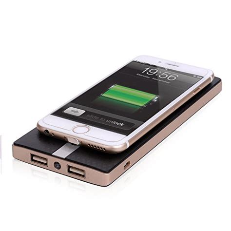 Power Bank Wireless For Samsung Note5 S6s6 Edge S7s7edge cloele 174 speed qi wireless power bank 8000mah portable wireless charger power bank 2 in 1
