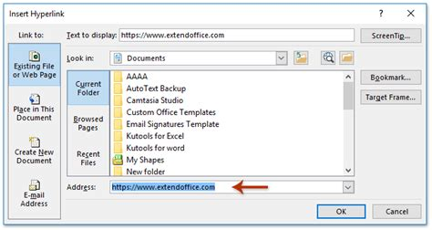 format email hyperlink how to add hyperlinks to signature in emails in outlook