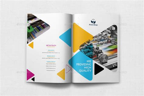 print shop template print shop brochure bundle template by owpictures