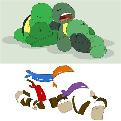 Sleepy Turtle tmnt base 2 sleepy turtles by xbox ds gameboy on deviantart
