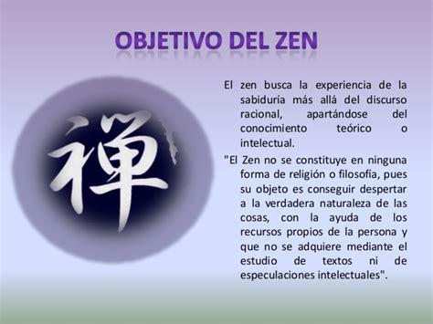 filosofa del budismo zen budismo zen