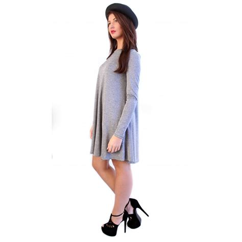 gray swing dress gray swing dress 28 images maeve mockneck swing dress