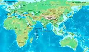 map of eastern world history maps by lessman