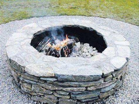feuerstelle stein selber bauen feuerstelle selber bauen feuerstelle im garten selber