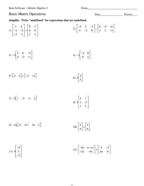 kutasoftware infinite algebra 2 smart kuta software infinite 15 best images of algebra 1 factoring trinomials worksheet algebra math worksheets factoring