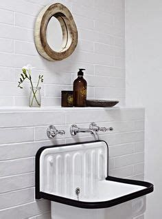 lavabo salle de bain 505 cast iron trough sink with brass hardware by rafterhouse