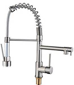 Kitchen Faucet Water Pressure Flg Contemporary High Pressure Nickle Brushed Kitchen Faucet