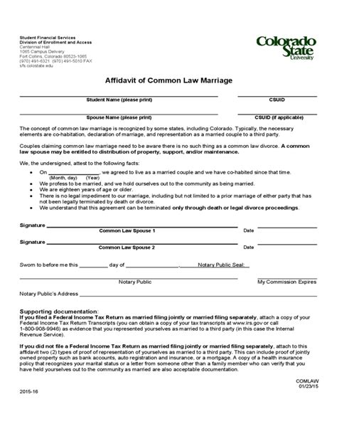 Common law marriage colorado dissolution