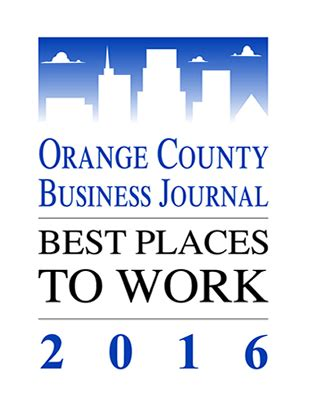 Business Mba Program Orange County by Bisnar Named Best Place To Work For 2016 Bisnar