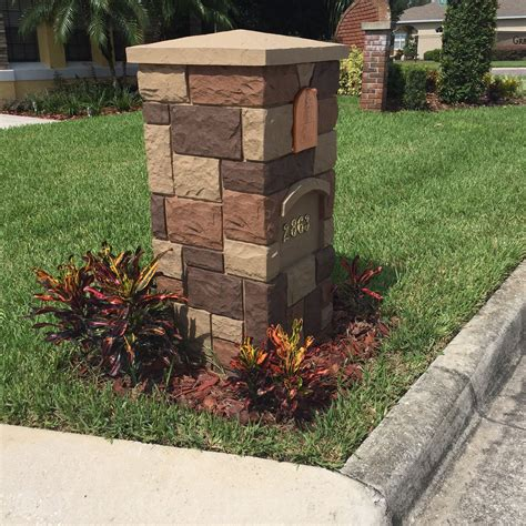 how to decorate a square brick mailbox for christmas ideas general brick mailbox prices umpquavalleyquilters general brick mailbox prices