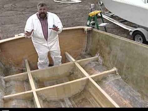 best wood for boat stringers transom rebuild funnydog tv