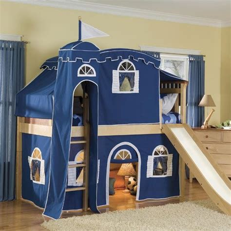 Boys Castle Bunk Bed Castle Loft Bed For Boys
