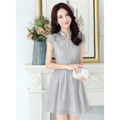 Baju Box Dress dress wanita korea d2412 moro fashion