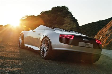 Sports Car Lam Wallpaper by 2 7 Million 2014 Audi E Spyder Roofless Electric