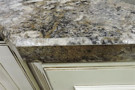 i can do this diy beveled edge bathroom mirror for the granite edges the finishing touch builders surplus