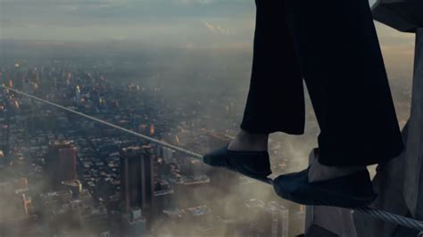 walk the flood don t look in the five minute imax trailer for the walk