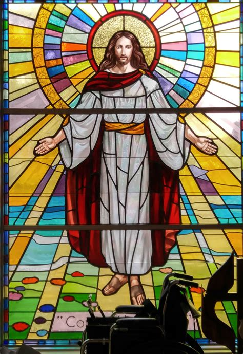 Marvelous Catholic Church In Palm Beach #4: Light-window-glass-peace-religion-church-cathedral-christian-material-stained-glass-religious-catholic-christ-symmetry-jesus-christianity-holy-easter-stained-glory-god-spirituality-stained-glass-window-640582.jpg