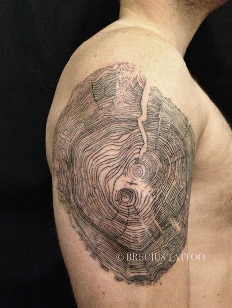 tree ring tattoo amazing tree rings ideas