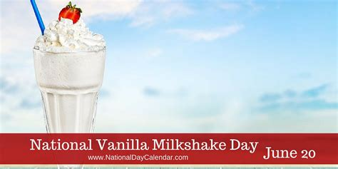 What Do You Its National Chocolate Milkshake Day by National Day Flavor Week Of June 18 24 National Day