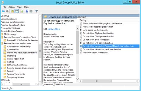 rdp redirection configuring usb redirection with remotefx in workspot