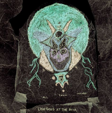 review all them witches lightning at the door