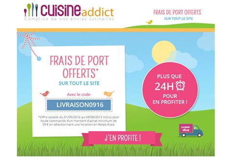 code promo cuisine addict cuisine code promo cuisine