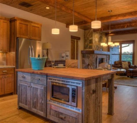kitchen island rustic reclaimed wood rustic kitchen islands buzzard