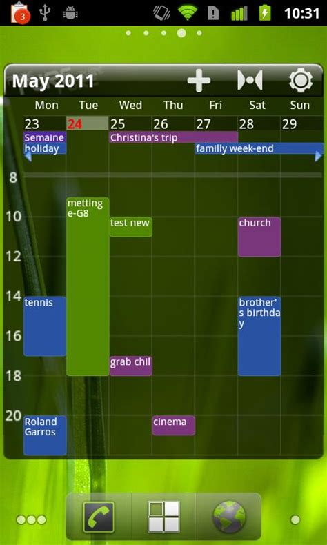 Best Calendar Widget Grid Calendar Widget Android Apps On Play
