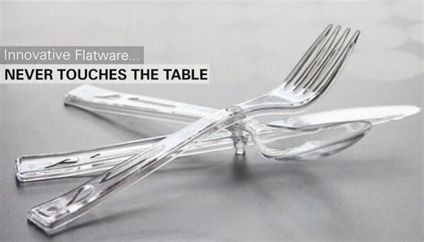 shark tank table ifork flatware that never touches the table shark tank