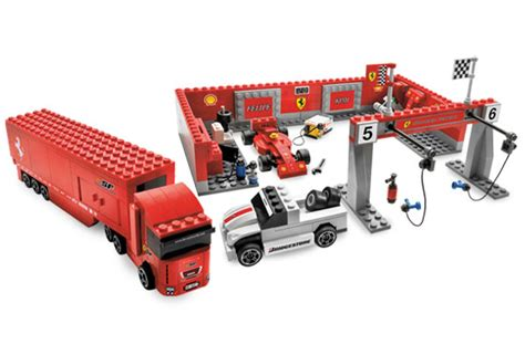 F1 Pit Stop The Collection lego 8155 f1 pit