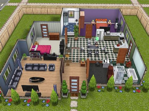 interior design sims freeplay house floor plans sims