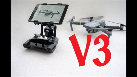 Mavic Pro Tablet Holder V2 dji mavic pro and spark tablet holder v3