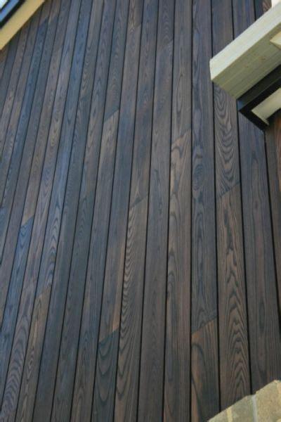 timber ash siding burnt ash cladding woodform architectural sabin cabin