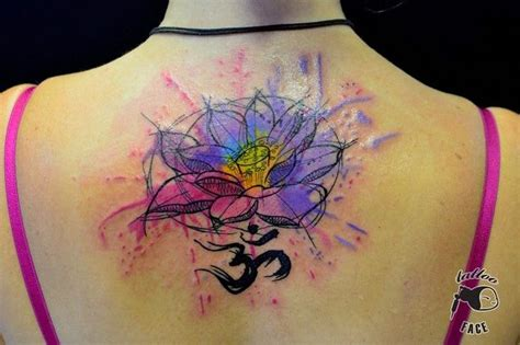 watercolor tattoo lotus flower https www be search q javi wolf aquarelle