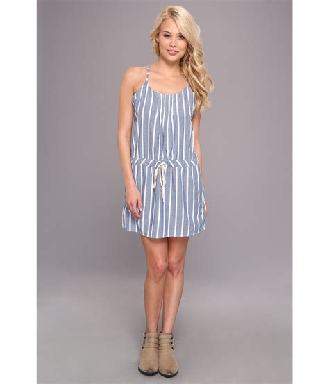 C C Californias New Summer Dresses by C C California Wide Stripe Chambray Sun Dress Lyst