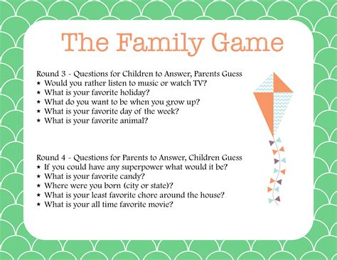 printable games for family family fun the newlywed game for families mom it forward