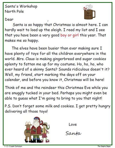 santa letter  print     option  boy