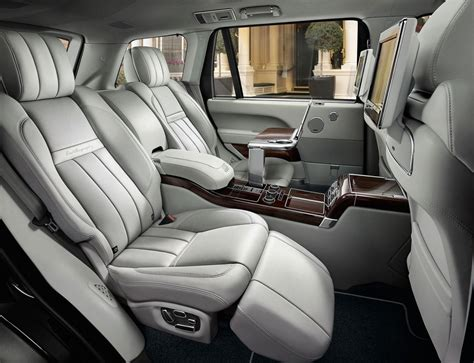 range rover seats range rover svautobiography revealed new luxury