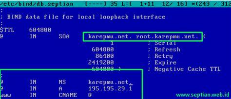 tutorial konfigurasi dns server bind9 tutorial cara termudah instal konfigurasi dns server di