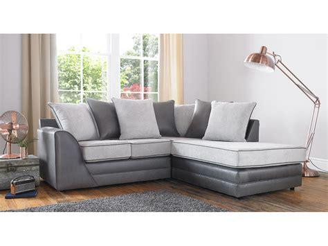Silver Corner Sofa missouri fabric silver corner sofa
