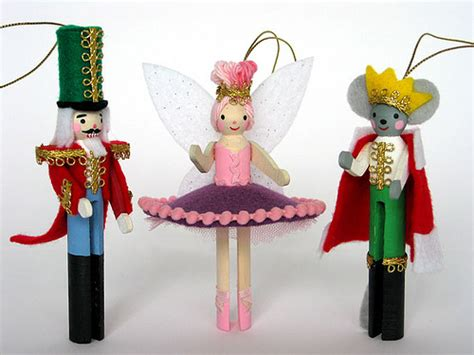 Decorations Kits To Make by Nutcracker Clothes Pin Ornament Kit Flickr