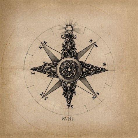 compass tattoo russian compass rose cartography pinterest