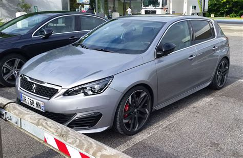 peugeot 308 gti peugeot 308 gti spotted before goodwood debut